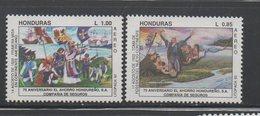 Honduras 1992 MNH Set Yvert 783/4 Columbus - Honduras