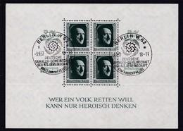 Deutsches Reich, Block 11, Gest. (K 3045) - Blocks & Kleinbögen