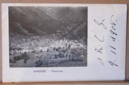 SPARONE  PANORAMA ,  VIAGGIATA 1908 - Altre Città