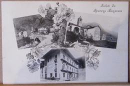 SPARONE  TRIS VEDUTINE, SALUTI DA SPARONE CANAVESE,  VIAGGIATA 1925 - Altre Città