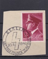 Deutsches Reich, Nr. 813 Auf Briefstück  (K 3049) - Usados