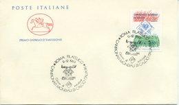 ITALIA - FDC  CAVALLINO 1989 - MONDIALI DI CALCIO - ITALIA 90 - 6. 1946-.. Repubblica