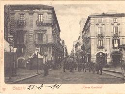1896 Cartolina Da Catania Per Barletta 021 - Marcophilia