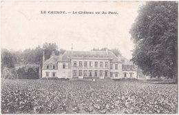 62. LE CAUROY. Le Château Vu Du Parc - France
