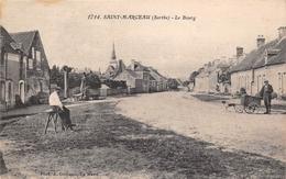 ¤¤  -    SAINT-MARCEAU   -  Le Bourg  -  Attelage De Chien        -  ¤¤ - France