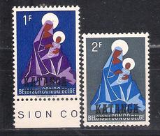Katanga 1960  Sc Nr 2/3 MNH (a1p24) - Katanga