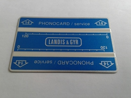 MINT Service Card - Serial 203K - Other - Europe