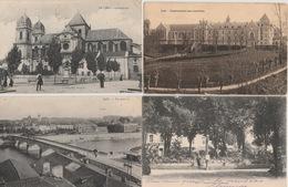 18 / 6 / 146  -  LOT  DE  5  CPA  & 1  CPSM  DE  DAX ( 40 ) Toutes Scanées - Postcards