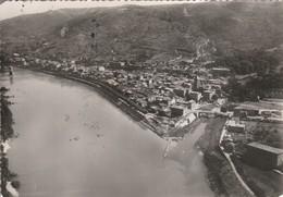 Drome : SAINT-VALLIER-sur-RHONE : Vue Aérienne : Confluent Du Rhone Et De La Galaure ( Cpsm Photo Vérit.) Grand Format - Otros Municipios