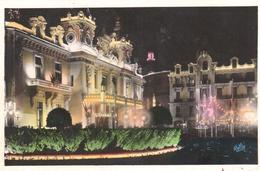 POSTAL  - MONTE-CARLO  -MONACO  - CASINO Y HOTEL DE PARIS  (LE CASINO ET L'HÔTEL DE PARIS) - Monte-Carlo