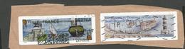 2 Vignettes    Fetes Maritimes Etphilapostel   (clascamerou5) - 1999-2009 Vignettes Illustrées