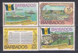 Barbados  1976   Sc Nr 448/51  MNH (a1p28) - Barbados (1966-...)
