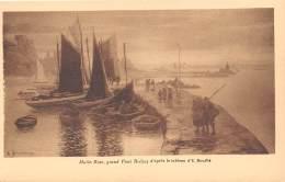 MARTIN ROSE Grand Pont Brechat D Apres Le Tableau D E BOUILLE 2(scan Recto-verso) MA229 - Paintings
