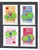 OST1309 ALBANIEN 1984  MICHL  2238/41  ** Postfrisch SIEHE ABBILDUNG - Albanien