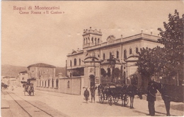 Cartolina Animata  Da MONTECATINI Per Genova  021 - 1900-44 Vittorio Emanuele III