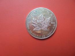 "CANADA 5 $ 1994 ARGENT PUR(1 OUNCE)  ""ERABLE"" - Canada"