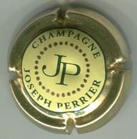 CAPSULE-CHAMPAGNE PERRIER JOSEPH N°74 Centre Jaune Pale - Autres