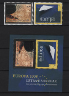 Kosovo 2008 CEPT Unif. 102/03+BF9 **/MNH VF - Kosovo