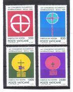 XAX91 VATICAN  1989   MICHL  984/87 ** Postfrischer SATZ SIEHE ABBILDUNG - Vatikan