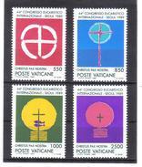 XAX92 VATICAN 1989  MICHL 984/87 ** Postfrischer SATZ Siehe ABBILDUNG - Vatikan