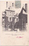 45. CHATILLON-SUR-LOIRE. Château De Courcelles-le-Roy (Cour Intérieure) - Chatillon Sur Loire