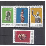 OST1312 ALBANIEN 1987  MICHL 2323/26 Postfrisch SIEHE ABBILDUNG - Albanien