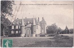 45. Château De COURCELLES-LE-ROY, Près Châtillon-sur-Loire. 1035 - Chatillon Sur Loire