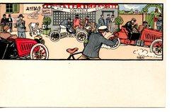 Illustrateur : Harry Elliot : Automobile - Elliot