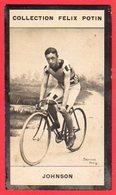 Collection Felix Potin ( Johnson ) - Cyclisme