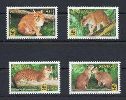 1997 AFRIQUE SENEGAL NEUFS** MNH Y&T N° 1275-1276-1277-1278 - Senegal (1960-...)