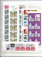 France Booklets, Used 3 Scans - Timbres