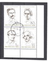 OST1316 ALBANIEN 1989  MICHL 2398/01 Gestempelter VIERERBLOCK SIEHE ABBILDUNG - Albanien