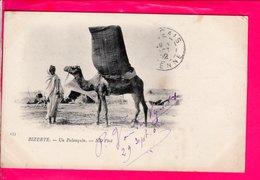 Cpa Carte Postale Ancienne  - Bizerte Un Palanquin - Tunisia