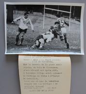 Rugby à XIII Celtique Paris-Cavaillon à Vincennes1951 Photo Presse 180x120 - Sports