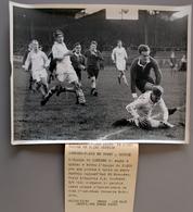 Rugby à XV Londres Bat Paris à Buffalo En 1951 Photo Presse 180x240 - Sports