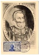 CARTE MAXIMUM FRANCE 1969 / 44 NANTES   = CACHET  FDC  PREMIER JOUR N° 1618 'HENRI IV / EDIT De NANTES ' - Cartas Máxima