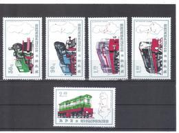 OST1329 ALBANIEN 1989  MICHL 2383/87 Postfrisch SIEHE ABBILDUNG - Albanien