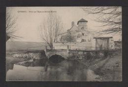 CPA . Dépt.27. GIVERNY . Pont Sur L'Epte Et Ancien Moulin . - Francia