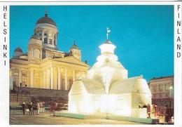 Europe - Finlande - Helsinki - 1 Timbre Philatélique Au Verso Oblitéré - Voir Scan - Cpm - écrite - - Finlande