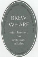 UNUSED BEERMAT - BREW WHARF BREWERY (LONDON, ENGLAND) - (Cat 001) - (2006) - Bierviltjes