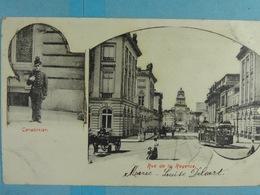 Bruxelles Carabinier Rue De La Régence - Lanen, Boulevards