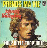 """Johnny Hallyday """" Prends Ma Vie """" - Vinyl Records"""