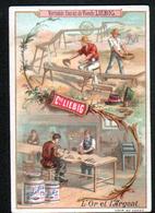 CHROMO LIEBIG , S 350, Materiaux De La Nature, L'or Et L'argent - Liebig