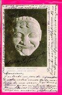 Cpa Carte Postale Ancienne  - Athenes Tete De Meduse - Grèce