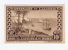 Exposition Philatélique Internationale 1930 De L'Afrique Du Nord. Centenaire De L'Algérie. (2952) - Lettres & Documents