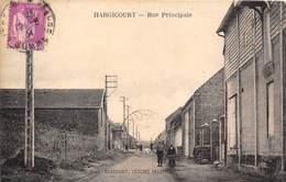 80-HARGICOURT- RUE PRINCIPALE - France