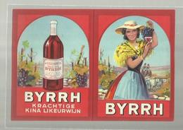"""""""""""   BYRRH    """""""" - *** Krachtige  Kina  Likeurwijn *** """""""" """""""" - Calendarios"""