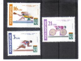 OST1401 ALBANIEN 1993  MICHL 2531/33 Postfrisch SIEHE ABBILDUNG - Albanien