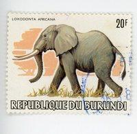Burundi 1983-Elephant,timbre Nr 855 De La Série Oblitéré - 1980-89: Oblitérés