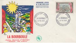 Enveloppe  FDC  1er   Jour    FRANCE   LA  BOURBOULE    1960 - 1960-1969